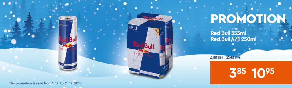 Red Bull akcija 3,85 KM