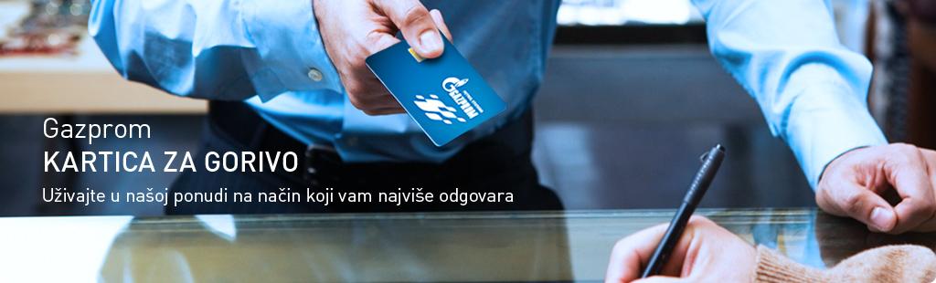 Gazprom Neft kartica za gorivo