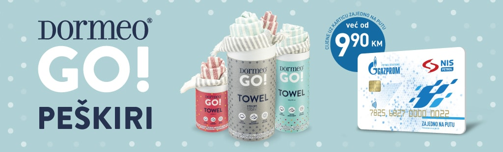 Dormeo towels