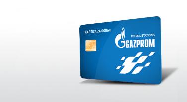 gazprom kartica