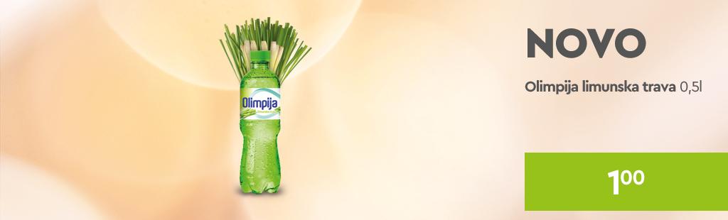 Olimpia lemongrass akcija 1 KM